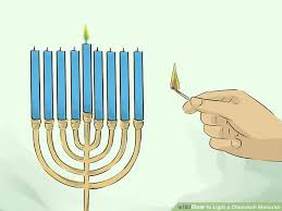menorah candle holder how to light a chanukah menorah 15 steps with pictures