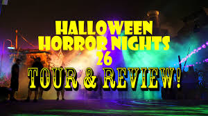 halloween horror nights 26 universal orlando resort complete park