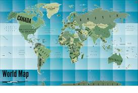 Blue World Map by Buy World Wood Map Online At India Map Store World Wood Map