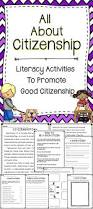 Citizenship In The Nation Merit Badge Worksheet All About Citizenship Activity Pack This Is A Literacy Resource