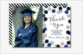 graduation thank you cards 7 graduation thank you cards design templates free premium