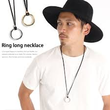 long necklace men images Kawa ring design long necklace lady 39 s men unisex man and woman jpg
