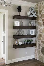 Wall Shelves Decor by Best 25 Floating Shelves Bedroom Ideas On Pinterest Tv Wall