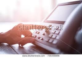 Customer Help Desk Communication Support Call Center Customer Service Stock Photo