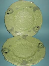 Melba Ware Vase English Porcelain Melba Ware Fish Plates Was Sold For R57 00 On