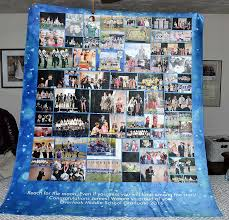 middle school graduation gifts 8th grade graduation gift sherpa photo blanket review own words
