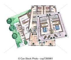building plans architecture building plans office plan clipart search