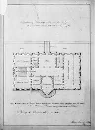 early white house floor plans white house historical association