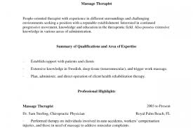 Sample Massage Therapist Resume by Massage Therapist Resume Entry Level Reentrycorps