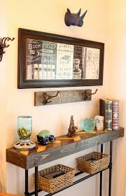 Turquoise Entry Table by Vintage Home Love Our Vintage Home Tour