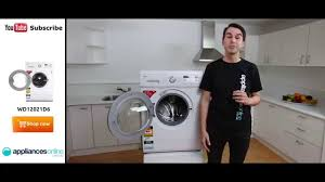 the wd12021d6 7kg front load lg washing machine the smart self