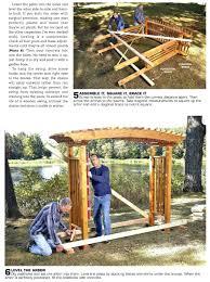 swing arbor plans arbor plans bench swing free woodworking followfirefish com