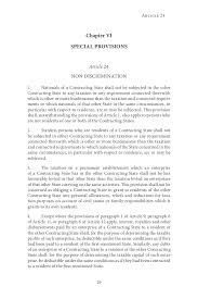 Residency Letter Of Recommendation Template by Un Model Double Taxation Convention 2011 Update
