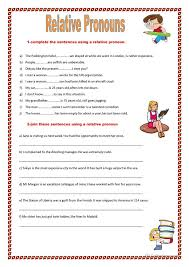 relative pronoun worksheet free worksheets library download and