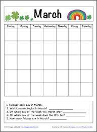 blank calendar template ks1 182 best math games for kids images on pinterest preschool