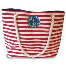 nautical tote enesco faith and grace nautical tote bag 14 inch suitcase
