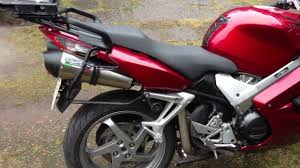 honda vfr 800 vtec 2006 g p r gpe inox exhaust without db sil