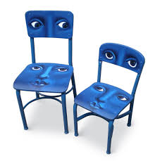 faces on chairs original hand painted chairs marlene llanes