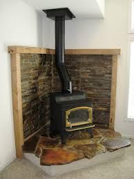 decorating decorating around a wood burning stove fireplace