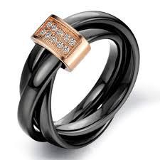 black wedding band s ceramic rolling wedding band ring black