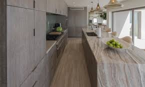 ideas for long narrow kitchens black wooden kitchen cabinet golden