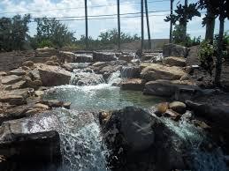 large waterfall orlando central florida fl premier water garden