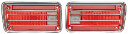 1970 chevelle tail lights restoparts tail l lens 1970 chevelle opgi com
