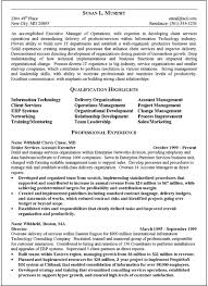 Operations Management Resume Examples Example Executive Resume Resume Example And Free Resume Maker