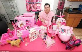 u0027m barbie man u0027 collector spends 80 000 fills bedrooms