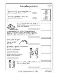 ordering sets of decimals worksheets pinterest decimal set