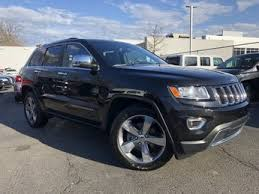 jeep cherokee black 2015 certified jeep grand cherokee limited 4wd w nav roof for sale in