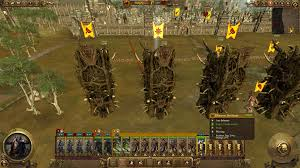 total siege in warhammer your legendary can push the siege towers on