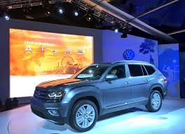 volkswagen atlas 7 seater 2018 vw atlas is a brand new 7 seater large crossover for north