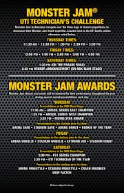 what monster trucks will be at monster jam monster jam pit party schedule awards monster jam