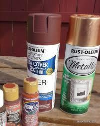 easy faux hammered copper paint technique stow u0026tellu