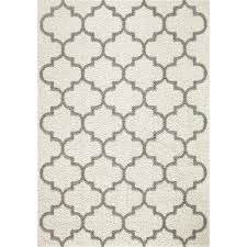 trellis 2 color shag cream area rug maples rugs