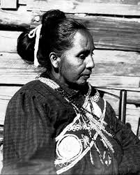 traditional cherokee hair styles choctaw woman heleema called louise wearing traditional