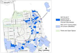 San Francisco Neighborhood Map by Map Of Poorest Sf Areas U2014 And Communities Of Color U2014 Redrawn To