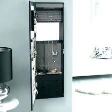 wall mirror jewelry cabinet custom wall mounted jewelry cabinet wall mounted jewelry cabinet