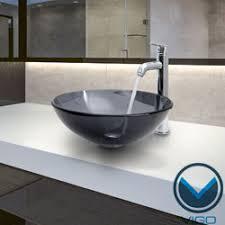 Black Vessel Sink Faucet Black Vessel Sink Modern Minimalist Black And White Bathroom
