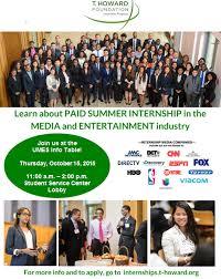 Summer Entertainment Internships - job u0026 internship openings university of maryland eastern shore