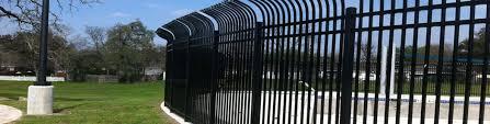commercial wrought iron fence houston iron fence iron gates