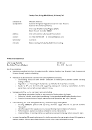 Monash Resume Sample by Resume 2016 Product Scheduler