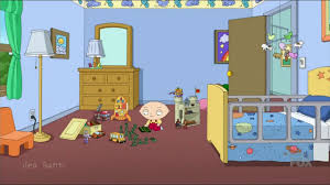 Family Guy Peter Hides From Lois Sleep In Stewie YouTube - Family guy room