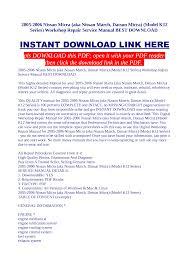 nissan micra haynes manual pdf nissan micra haynes manual pdf