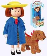 madeline plush doll and storybooks
