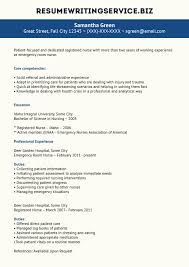 Icu Nurse Job Description For Resume by Professional Nursing Resume Writers Free Resume Example And