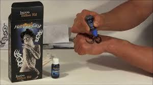 jagua tattoo kit demo youtube