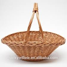 best empty wicker gift baskets with handles wicker baskets for