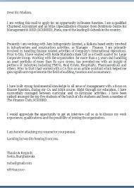 job application letter sample financial accountant shishita